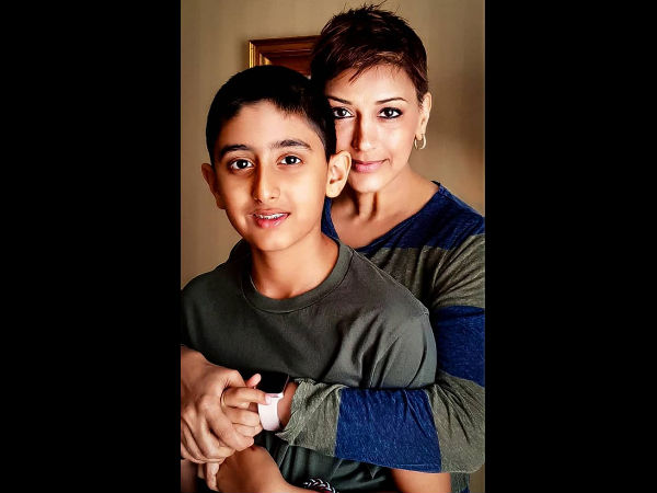 How Sonali Bendre's Son Ranveer Acted When She Was Diagnosed With Cancer? He'll Win Your Heart!