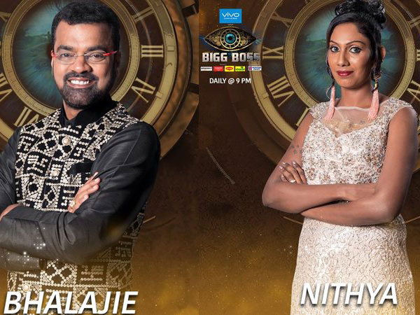 Nithya And Thadi Balaji Set Aside Their Differences