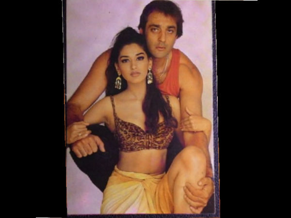 Sonali Bendre With Sanjay Dutt