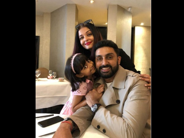 Abhishek Bachchan Looks Super Happy As He Joins Wife Aishwarya & Daughter Aaradhya For A Vacation!