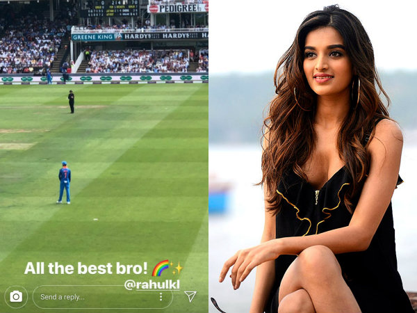 Nidhhi Agerwal Just 'Bro' Zoned KL Rahul & Twitterati Troll Him Mercilessly!