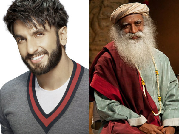 Ranveer Singh To Be Seen In Conversation With Jaggi Vasudev At IIMB Annual Leadership Conclave