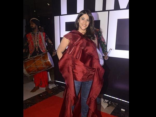 Ekta Kapoor Gets Trolled For Her Outfit!