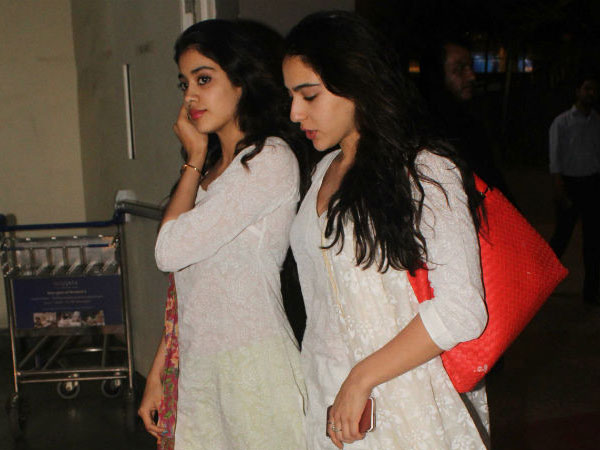 Sridevi On Janhvi's Friendship With Sara
