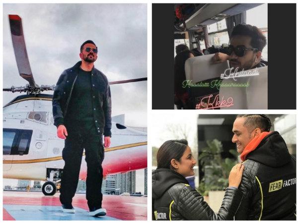 Khatron Ke Khiladi 9: Host Rohit Shetty & Contestants  Vikas, Bharti, Aly & Others Start Shooting!