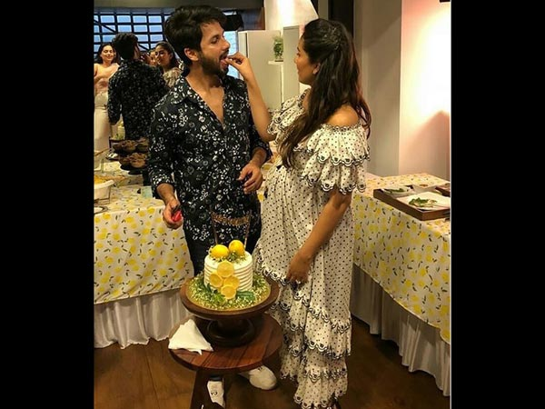 Mira Rajput's Baby Shower Pics: From Lemon Cake To Hubby Shahid Kapoor's Cute Antics!