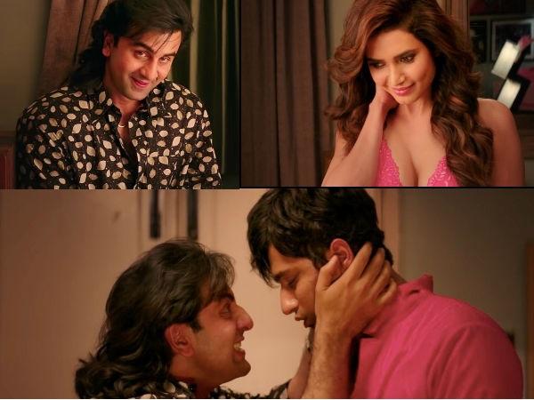 Sanju: Ranbir Kapoor& Karishma Tanna Get NaughtyIn'Mujhe Chaand Pe Le Chalo' Song!