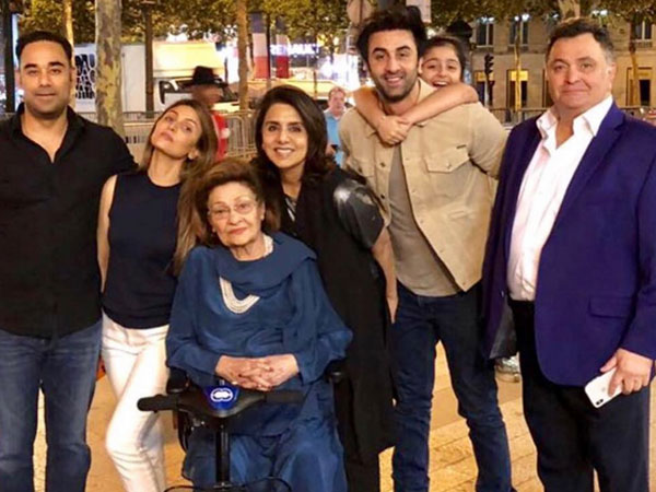 Meanwhile, Check Out Inside Pics From Neetu Kapoor's B'day Celebration