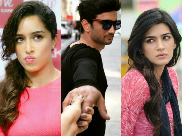 Catfight Brewing Between Kriti Sanon & Shraddha Kapoor! Sushant Singh Rajput To Be Blamed?