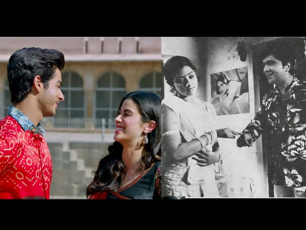 Before Janhvi Kapoor's Dhadak Releases, Let's Take A Look Back At Sridevi's Hindi Debut!