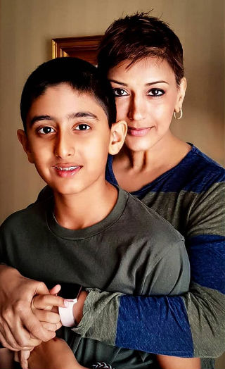 How Sonali's Son Reacted When She Was Diagnosed With Cancer?