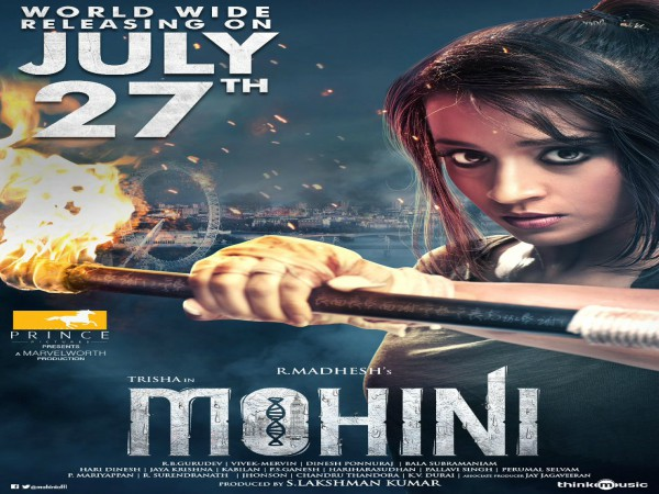 Trisha's Mohini To Hit The Screens On This Date!