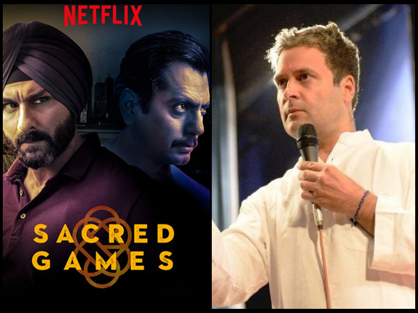 Rahul Gandhi Reacts To Sacred Games' Controversy, Anurag Kashyap & Swara Bhasker Praise Him!