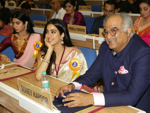 Boney Kapoor On Janhvi Kapoor Being Compared To Her Mom Sridevi: It Worried Her