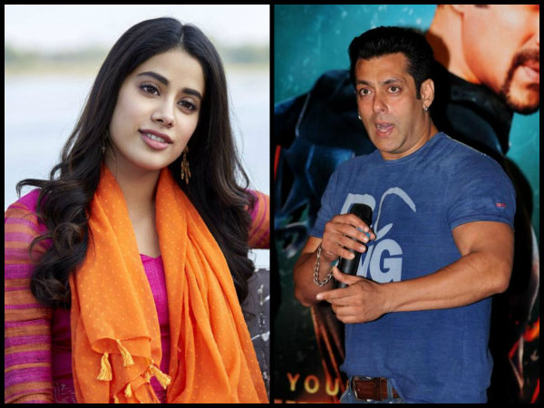 What Happened When Little Janhvi Kapoor Crashed Salman Khan's Wanted Dance Rehearsal