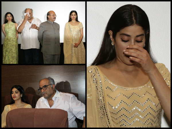Boney Kapoor Reveals He Took Twelve Years To Win Sridevi Heart Janhvi Kapoor Breaks Down Pictures