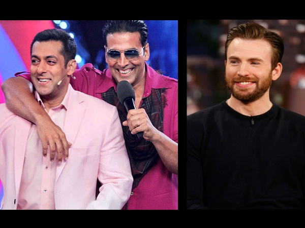 Salman Khan And Akshay Kumar Show Their 'Desi' Power