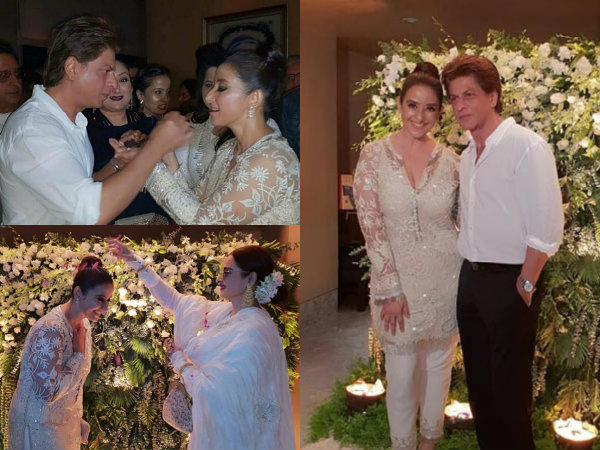 Shahrukh Khan, Rekha, SLB, Manish Malhotra & Others Attend Manisha Koirala's Birthday Bash! Pictures