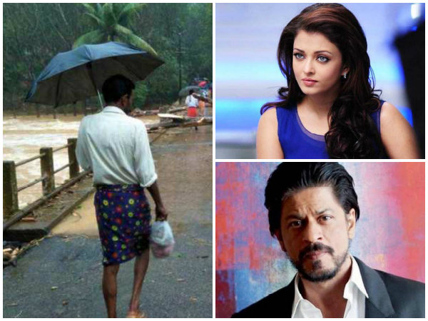 Kerala Floods: Shahrukh Khan, Aishwarya Rai, Hrithik Roshan & Big B Urge Fans To Donate For A Cause