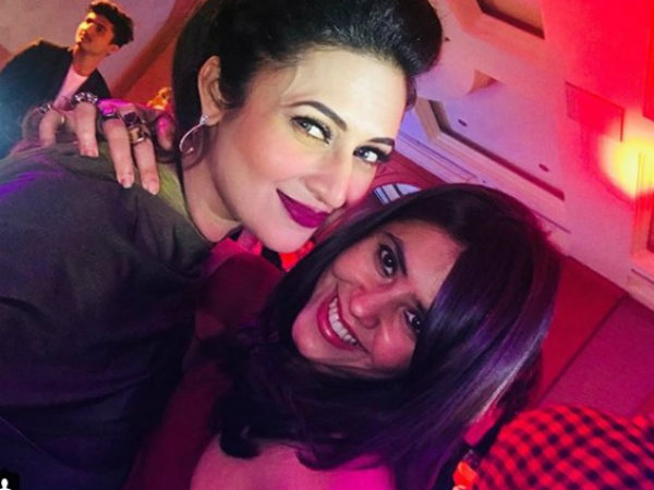 Divyanka With Her #BossFriend!