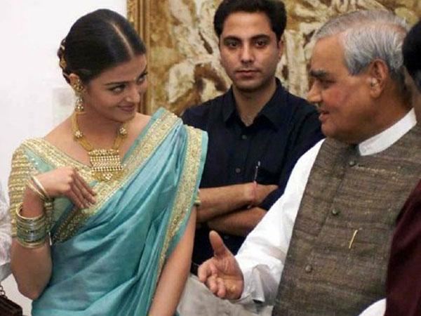 RIP Atal Bihari Vajpayee: When Aishwarya Rai, SRK, Big B & Others Shared The Stage With The Leader