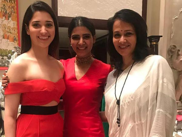 Three Queens In One Frame!