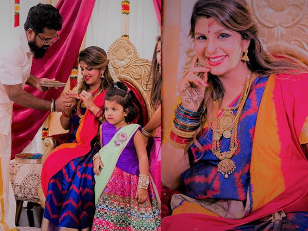 These Photos Of Rambha From Her Baby Shower Are Worth Their Weight In Gold!
