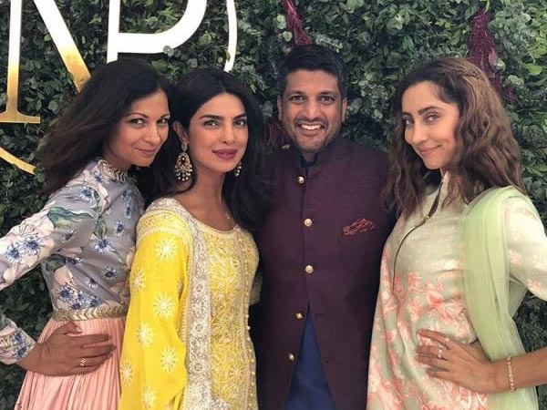 Priyanka Had Her Close Friends By Her Side