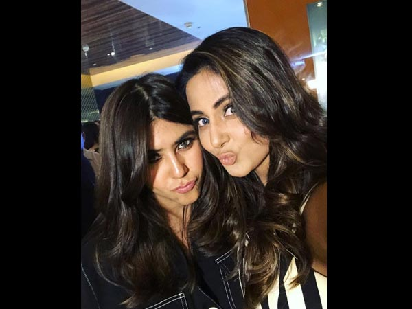 She Shares Her First Selfie With Ekta