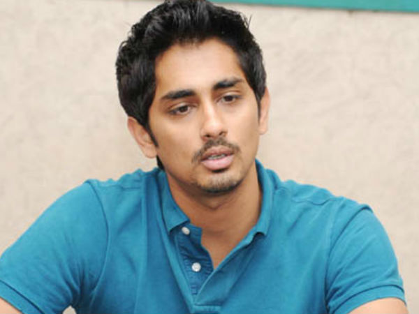 Siddharth Sets An Example By Coming Up With Kerala Donation Challenge!