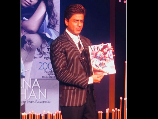 Shahrukh Also Talked About Suhana