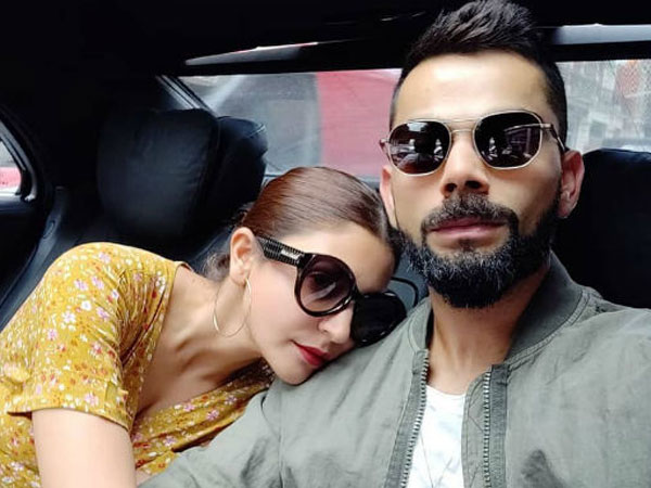 Virat Kohli Blows A Kiss To Anushka Sharma After Hitting A Century! Watch Video
