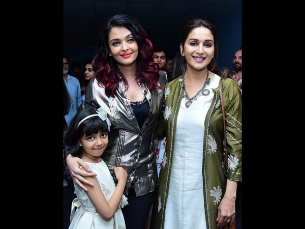 Aaradhya Came To Watch The Film With All Her Friends