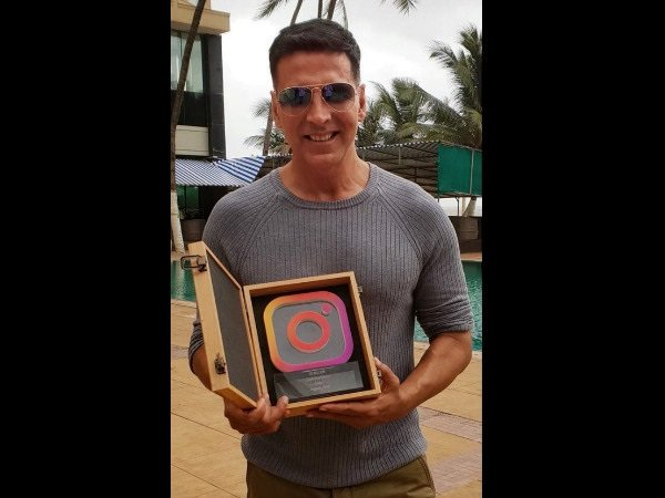 Akshay Kumar Achieves A Milestone; First B-Town Actor To Cross 20 Million Instagram Followers!