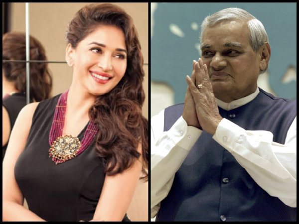 Atal Bihari Vajpayee Loved Prawns & Kebabs; Here's How Madhuri Dixit Drew Him Away From Gulab Jamuns