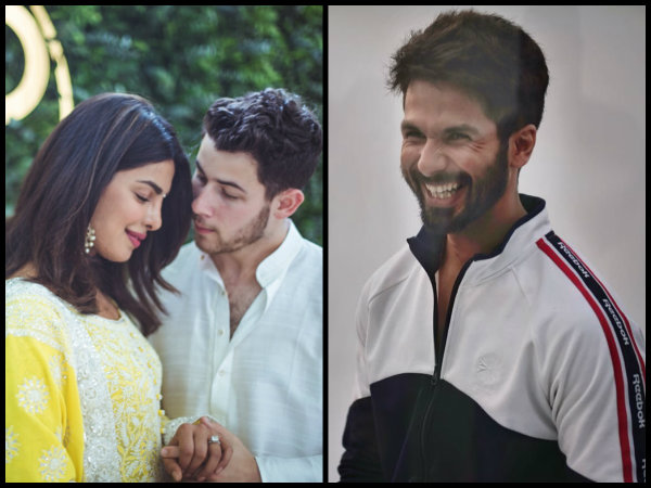 Shahid Kapoor Reacts To Alleged EX-GF Priyanka Chopra's Engagement To Nick Jonas!