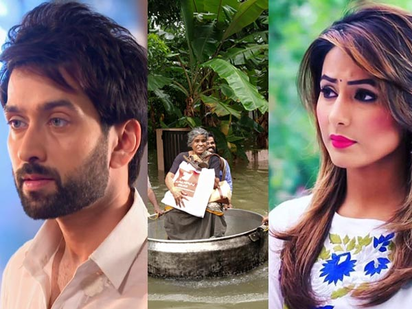 Kerala Floods: TV Actors Nakuul Mehta, Hina Khan, Vaishali Takkar & Others Urge Fans To Support