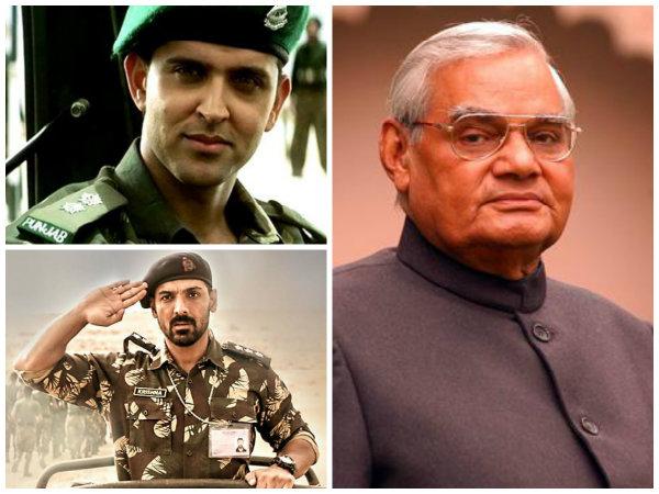 Atal Bihari Vajpayee's Tenure As PM Inspired Hrithik Roshan's Lakshya & John Abraham's Parmanu