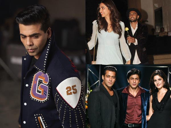 Koffee With Karan 6 Guest List Revealed: Shahrukh-Salman-Katrina & Deepika-Ranveer To Grace The Show