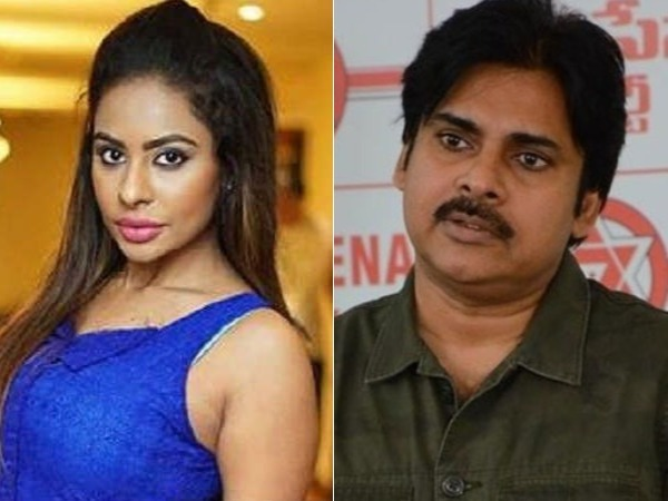 Sri Reddy Takes A Nasty Dig At Pawan Kalyan, Again!