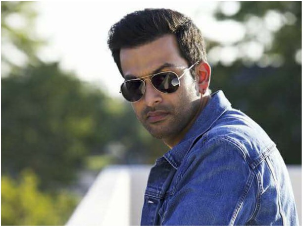 Prithviraj's Latest Picture From A Function Has Him In A New Look!