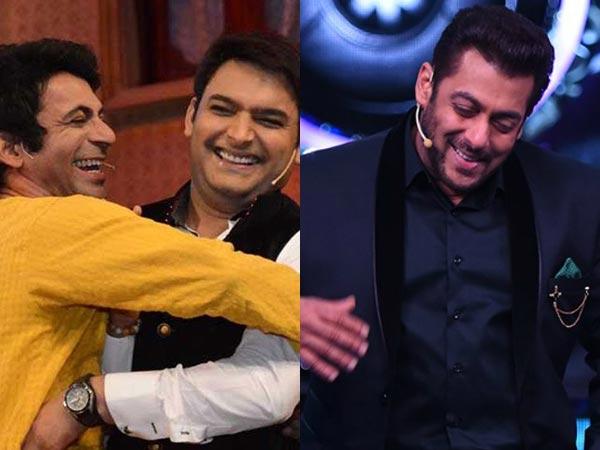 Salman Khan Feels Kapil Sharma & Sunil Grover Will Make The Funniest Jodi!