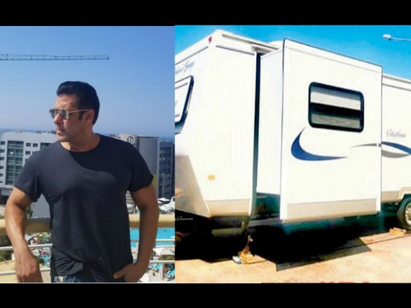 Straight From Bharat Sets: Take A Tour Inside Salman Khan's New Swanky Vanity Van!
