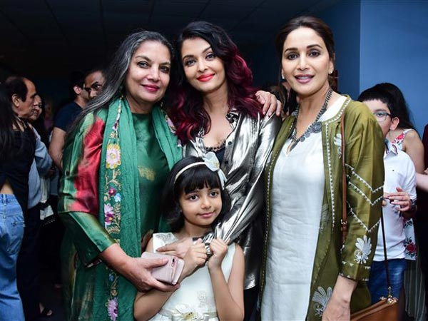 Aishwarya Was Glad To Be Accompanied By Aaradhya For The Screening
