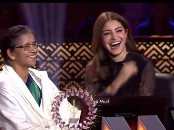KBC 10: Anushka Sharma Blushes As Amitabh Bachchan Teases Her About Virat Kohli's Flying Kisses!