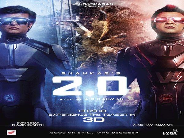 2 0 The Makers Rajinikanth Akshay Kumar S Film Have Spent Huge Sum Vfx
