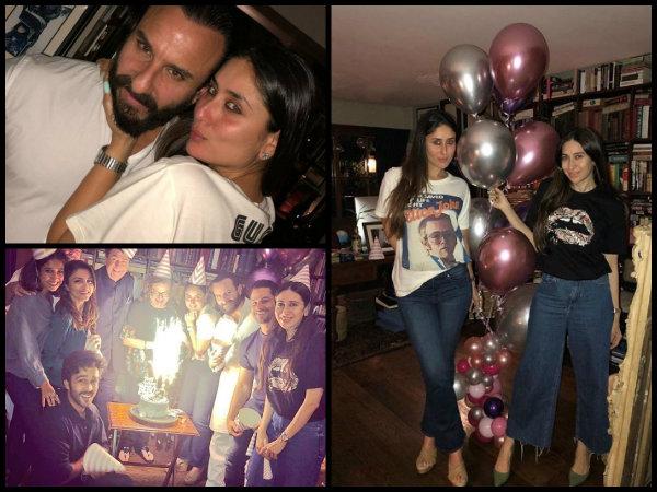 Inside Pictures From Kareena Kapoor Khan Birthday Celebration Attended By Karisma Kapoor Saif Ali