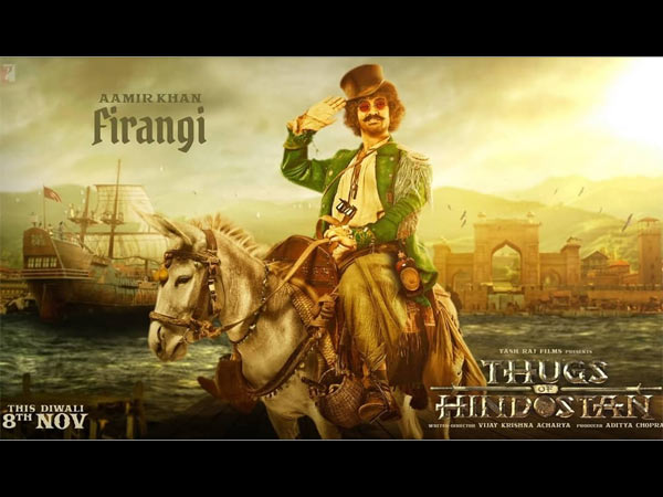 Thugs Of Hindostan: Aamir Khan's First Look As Firangi Will Make You More Curious About The Film!