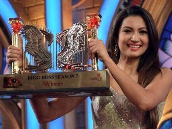 Bigg Boss Season 7 Winner – Gauhar Khan
