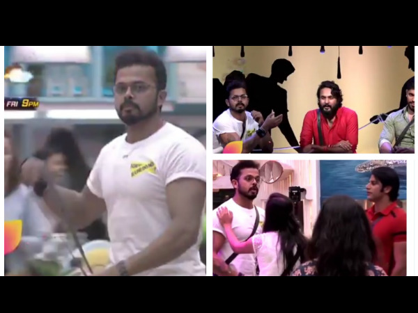 Bigg Boss 12 Spoiler: Shocking! First Task Gets CANCELLED; Sreesanth Threatens To Leave The House!